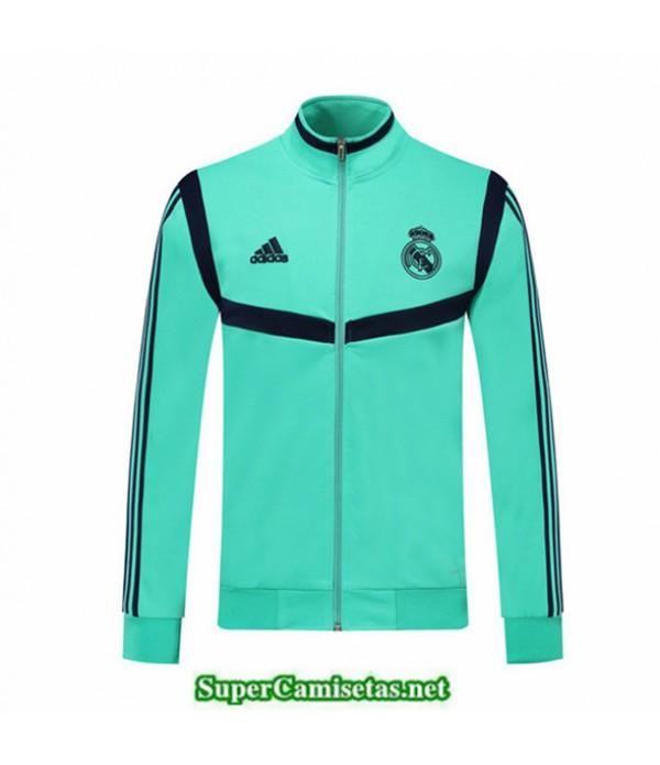 Tailandia Camiseta Real Madrid Chaqueta Vert/azul 2019/20