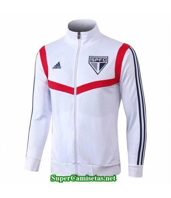 Tailandia Camiseta Sao Panlo Chaqueta Blanco 2019/20