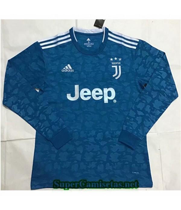 Tailandia Camiseta Segunda Juventus Manga Larga 20...
