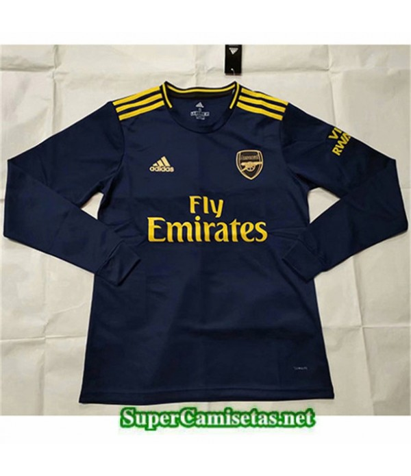 Tailandia Camiseta Tercera Arsenal Manga Larga 2019/20