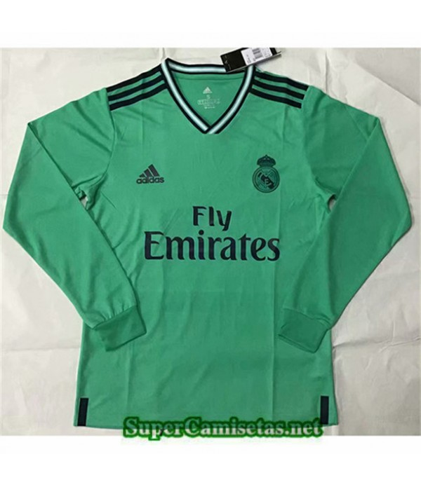 Tailandia Camiseta Tercera Real Madrid Manga Larga...