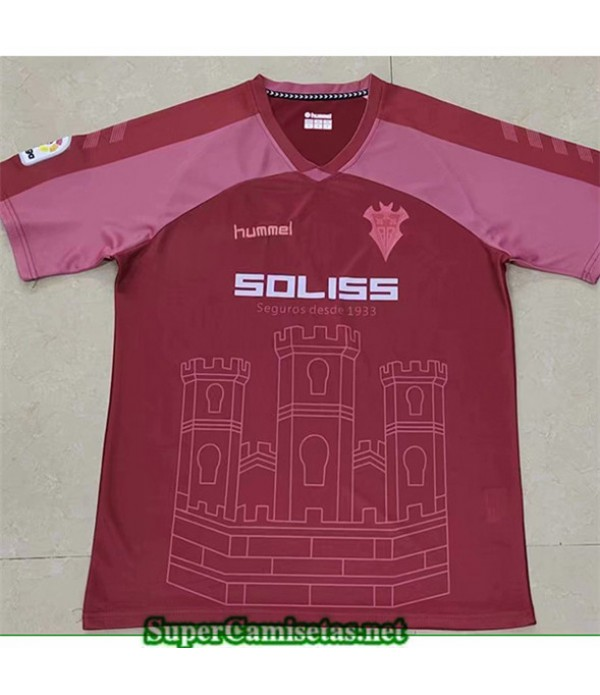 Tailandia Equipacion Camiseta Albacete Rojo 2019/20