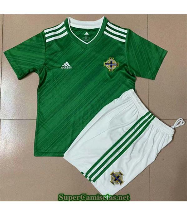 Tailandia Equipacion Camiseta Irlanda Del Norte Niños Uefa Euro 2020/2021