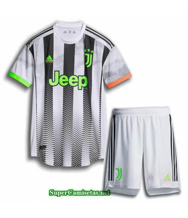 Tailandia Equipacion Camiseta Juventus Niños Cuar...
