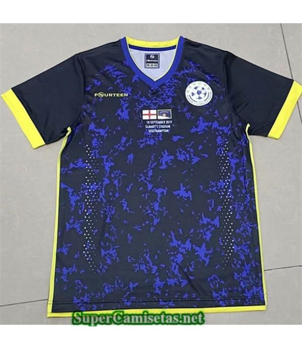 Tailandia Equipacion Camiseta Kosovo Azul 2019