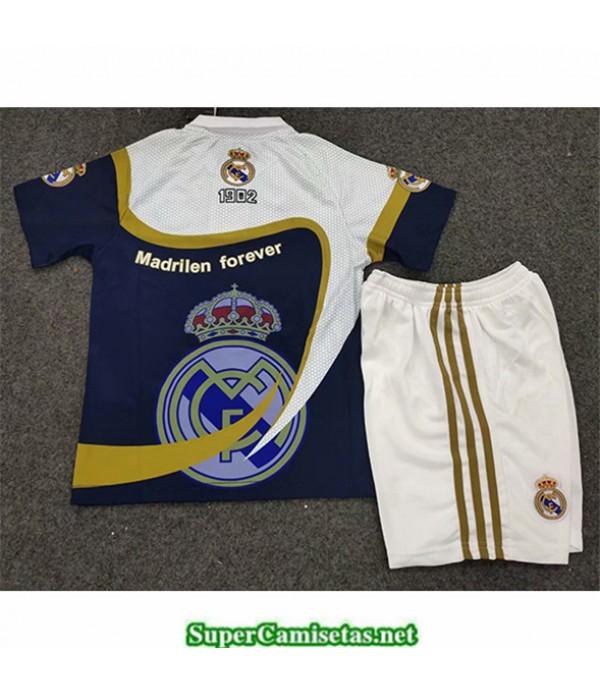 Tailandia Equipacion Camiseta Real Madrid Niños Insignia Edición Especial 2019 2020