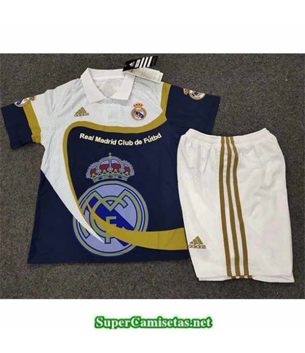 Tailandia Equipacion Camiseta Real Madrid Niños I...