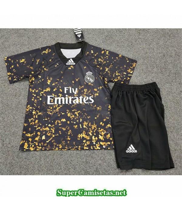 Tailandia Equipacion Camiseta Real Madrid Niños E...