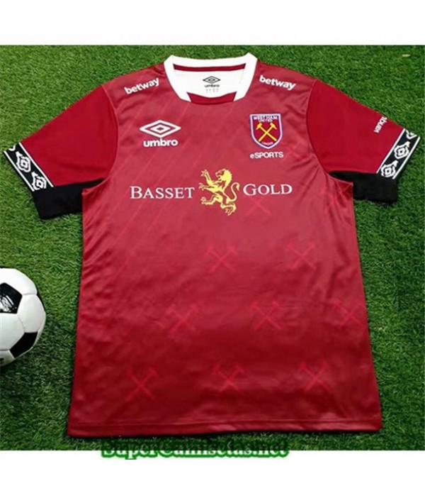 Tailandia Equipacion Camiseta West Ham Versión Del Juego 2019/20