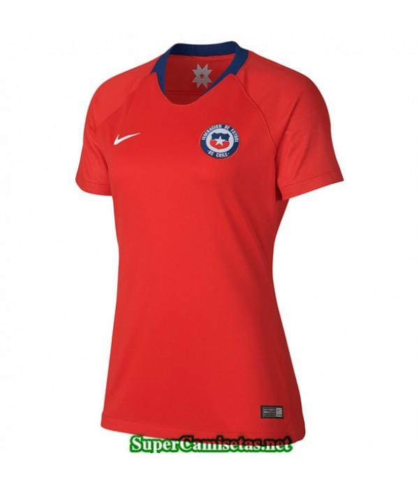 Tailandia Primera Equipacion Camiseta Chile Mujer 2019 2020