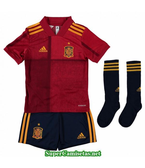 Tailandia Primera Equipacion Camiseta Espana Niños Uefa Euro 2020/2021