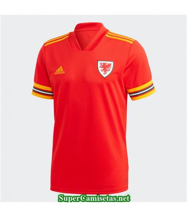 Tailandia Primera Equipacion Camiseta Gales Uefa Euro 2020/2021