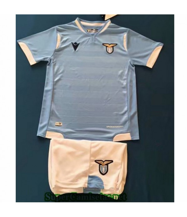 Tailandia Primera Equipacion Camiseta Lazio Niños 2019/20