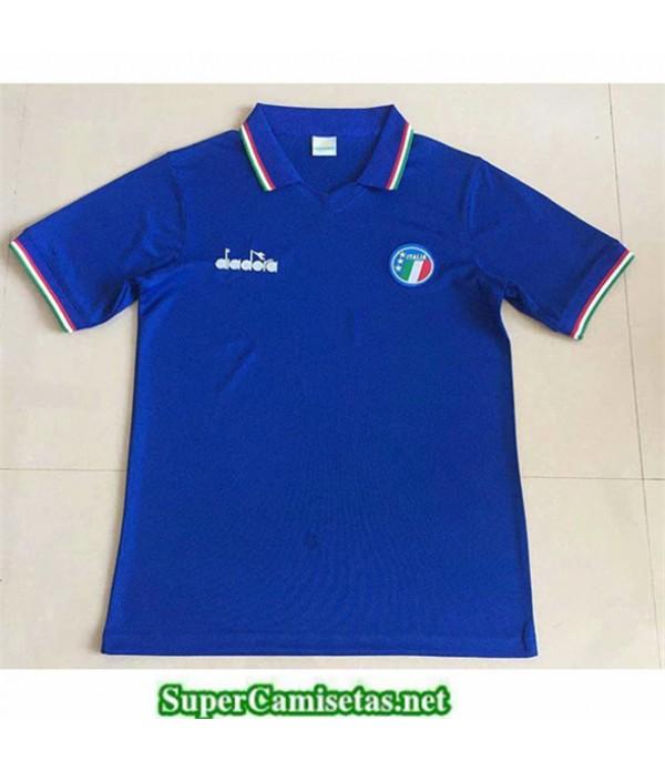 Tailandia Primera Equipacion Camiseta Retro Italy 1986