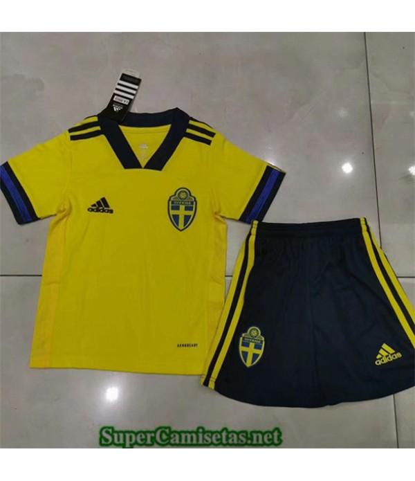Tailandia Primera Equipacion Camiseta Suecia Niños 2019/20