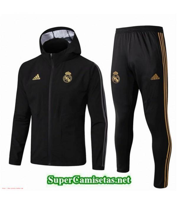 Tailandia Real Madrid Rompevientos Negro Sombrero 2019/20