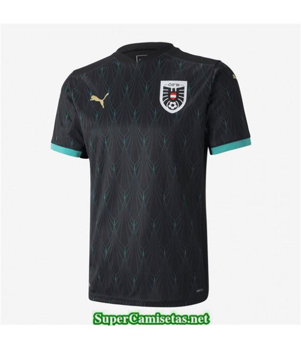 Tailandia Segunda Equipacion Camiseta Austria Uefa Euro 2020/2021