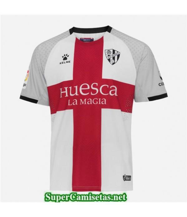 Tailandia Segunda Equipacion Camiseta Huesca Blanco 2019/20
