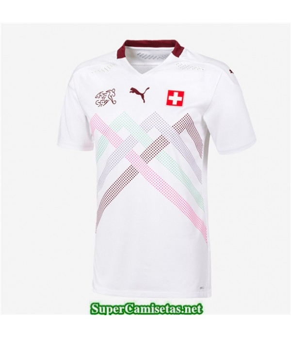 Tailandia Segunda Equipacion Camiseta Suiza Uefa Euro 2020/2021