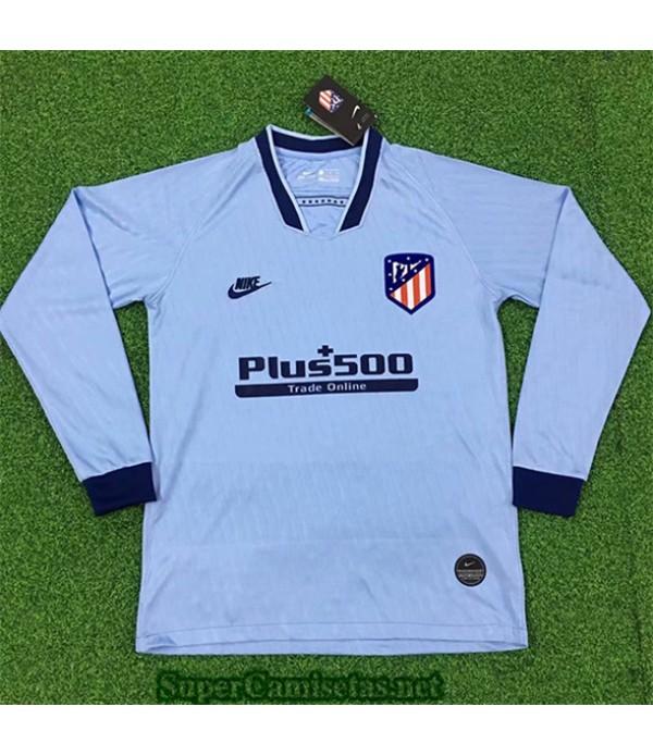Tailandia Tercera Equipacion Camiseta Atletico De Madrid Manga Larga 2019/20