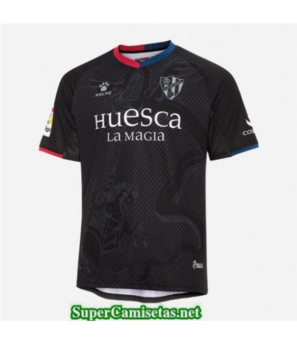 Tailandia Tercera Equipacion Camiseta Huesca Negro 2019/20