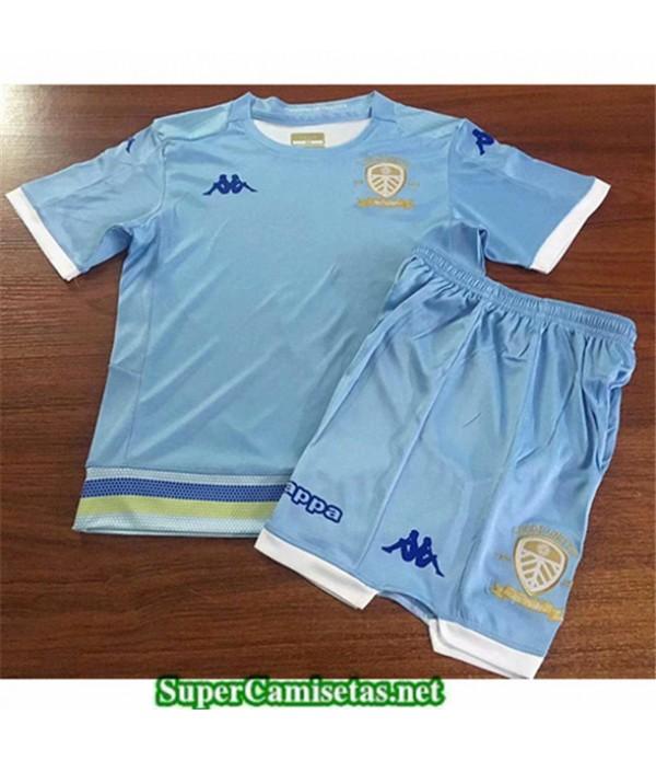 Tailandia Tercera Equipacion Camiseta Leeds United Niños 2019/20