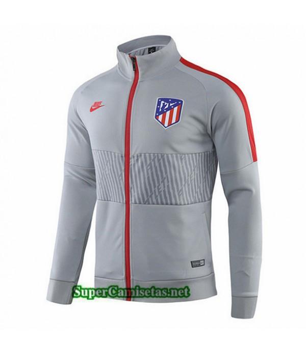 Tailandia Camiseta Atletico Madrid Chaqueta V273 Gris 2019/20