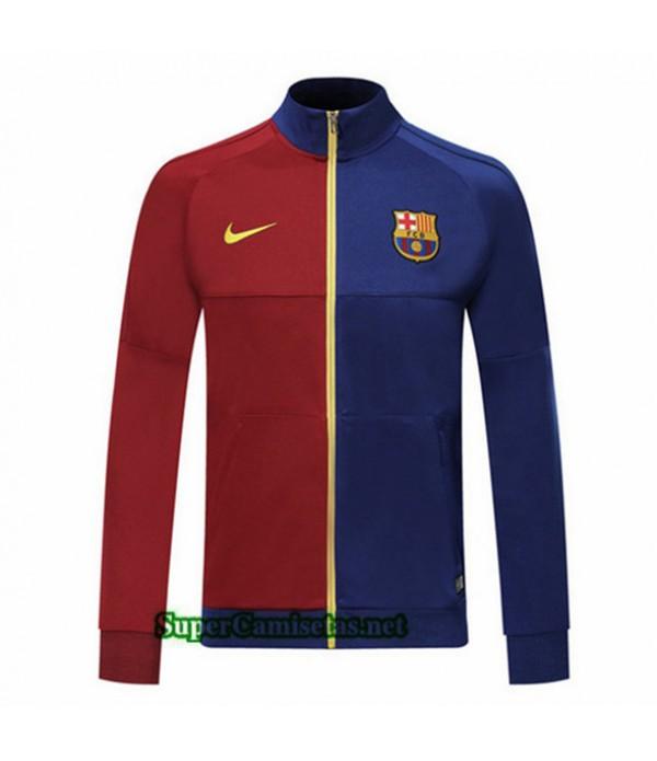 Tailandia Camiseta Barcelona Chaqueta V275 Azul/rojo 2019/20