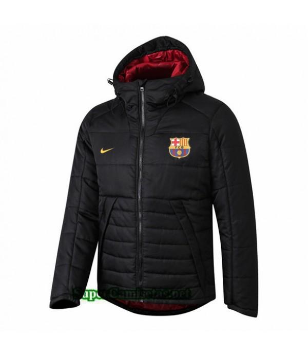 Tailandia Camiseta Barcelona Doudoune Chaqueta Sombrero V278 Negro 2019/20