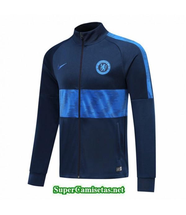 Tailandia Camiseta Chelsea Chaqueta V312 Azul Oscuro 2019/20