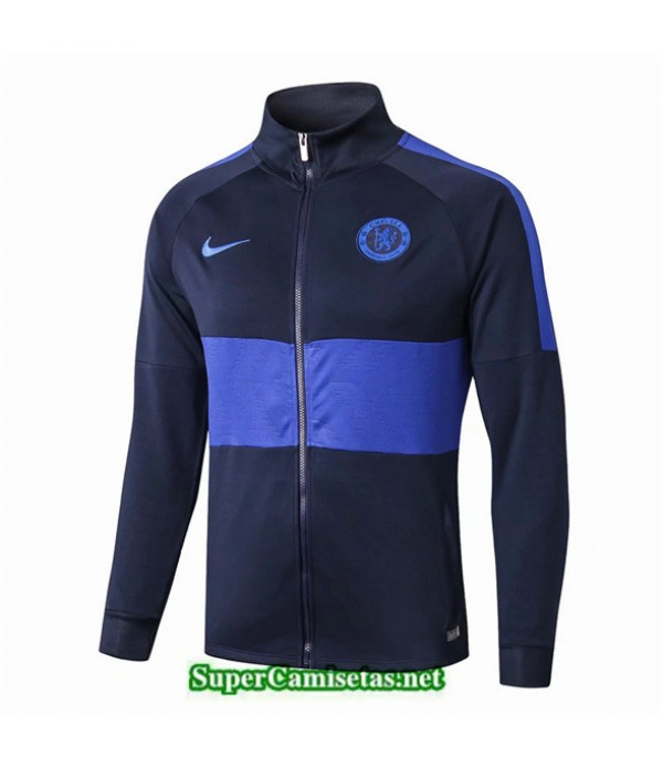 Tailandia Camiseta Chelsea Chaqueta V313 Azul Oscuro 2019/20
