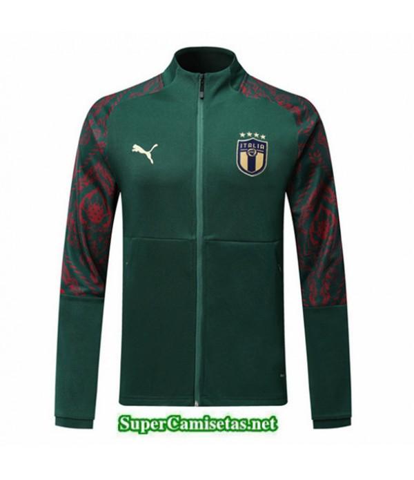Tailandia Camiseta Italy Chaqueta V333 Verde 2019/20