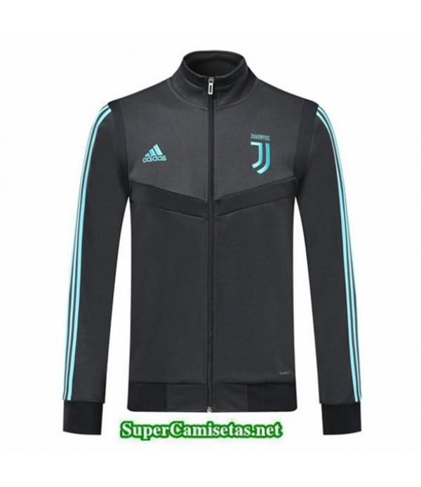 Tailandia Camiseta Juventus Chaqueta V347 Negro 2019/20