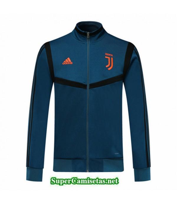Tailandia Camiseta Juventus Chaqueta V348 Azul/negro 2019/20