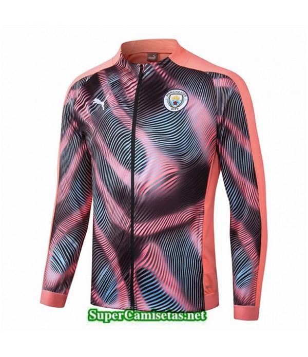 Tailandia Camiseta Manchester City Chaqueta V322 Amarillo/negro 2019/20