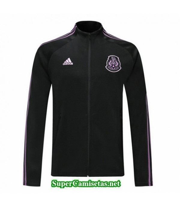 Tailandia Camiseta Mexico Chaqueta V334 Negro 2019/20