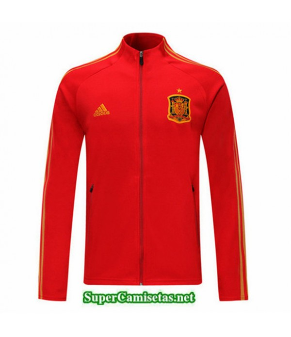 Tailandia Camiseta Spain Chaqueta V331 Rojo 2019/20