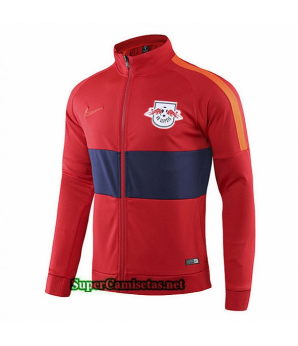 Tailandia Camiseta Toro Leipzig Chaqueta V269 Rojo/azul Oscuro 2019/20