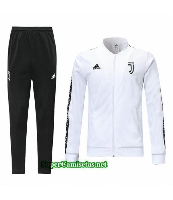 Tailandia Chaqueta Chandal Juventus V106 Blanco/negro 2019/20