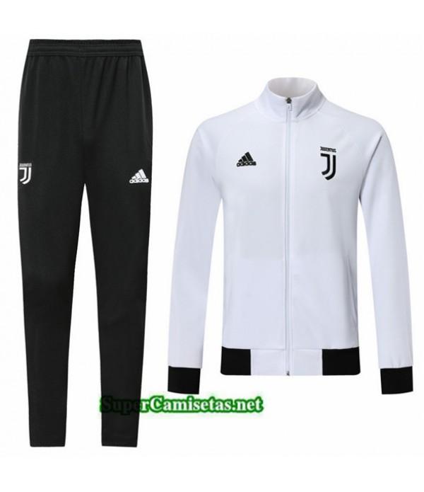 Tailandia Chaqueta Chandal Juventus V107 Blanco/negro 2019/20