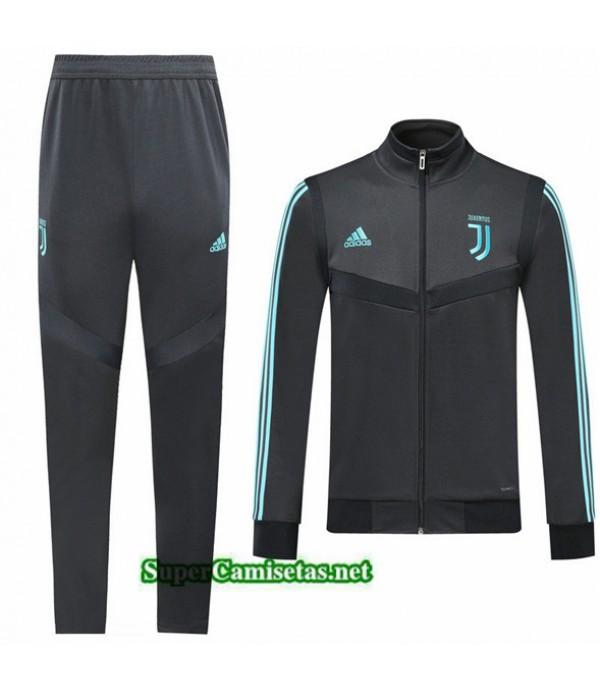 Tailandia Chaqueta Chandal Juventus V111 Negro 2019/20