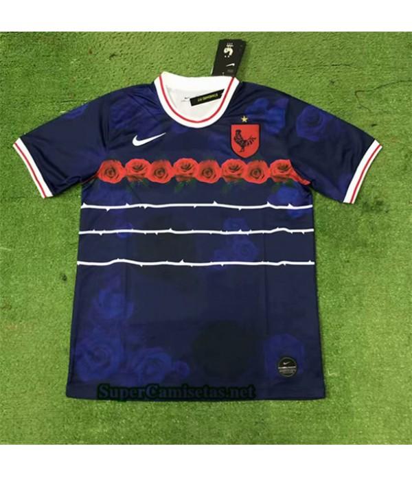 Tailandia Equipacion Camiseta Francia Azul 2020/21