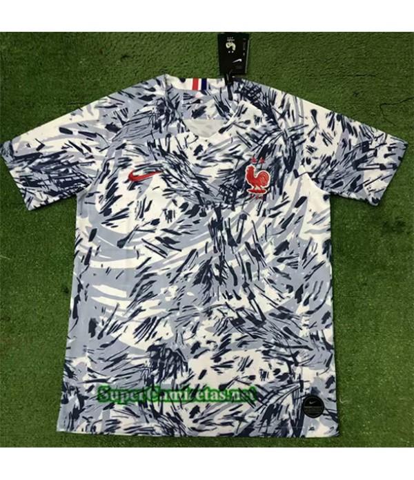 Tailandia Equipacion Camiseta Francia Blanco 2020/21