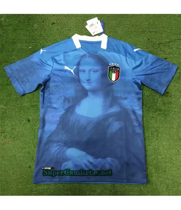 Tailandia Equipacion Camiseta Italia Mona Lisa 2020/21