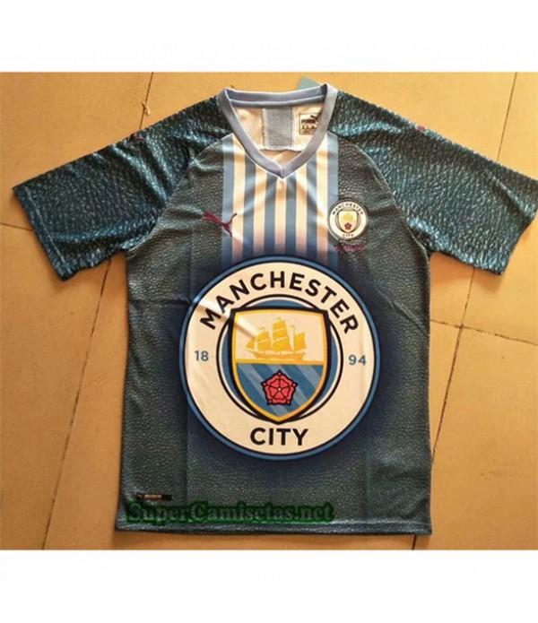 Tailandia Equipacion Camiseta Manchester City Edición Especial 2019/20