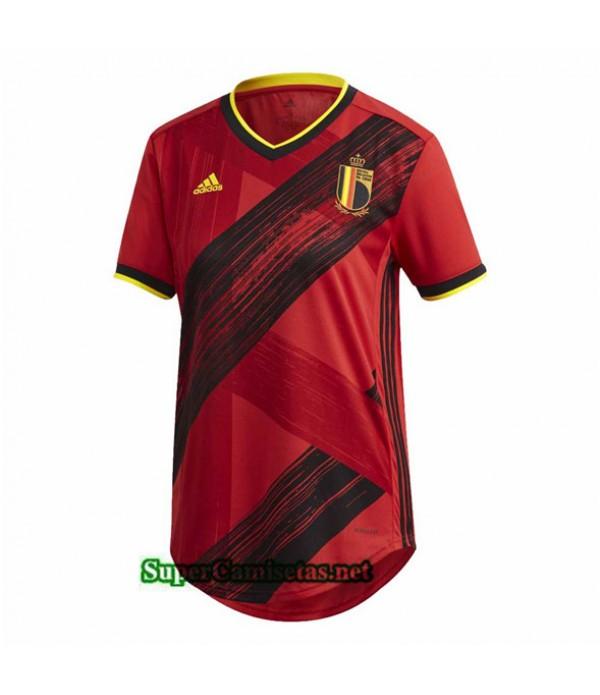 Tailandia Primera Equipacion Camiseta Belgica Mujer 2020/21