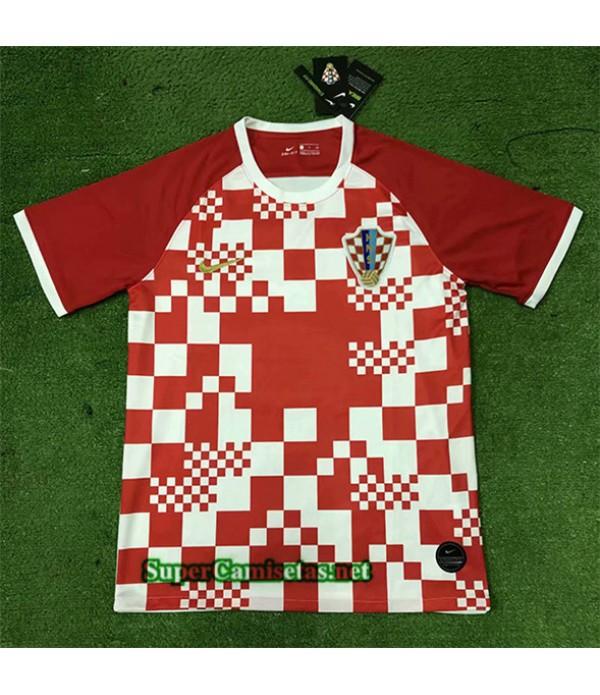 Tailandia Primera Equipacion Camiseta Croacia Uefa Euro 2020/21