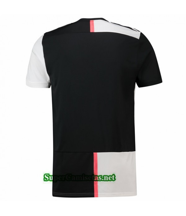 Tailandia Primera Equipacion Camiseta Juventus Blanco/negro 2019/20