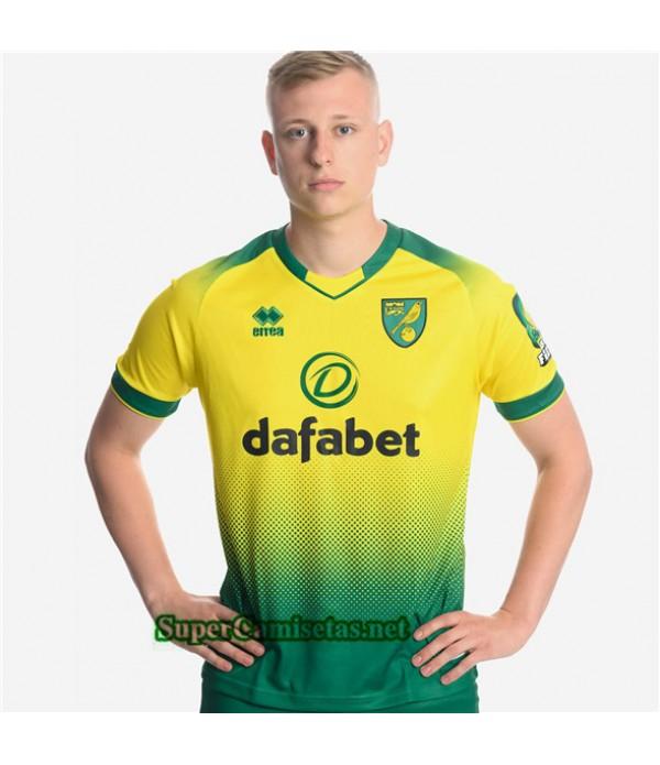 Tailandia Primera Equipacion Camiseta Norwich City 2019/20