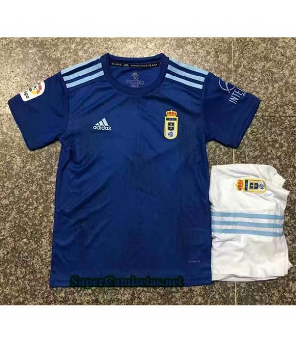 Tailandia Primera Equipacion Camiseta Real Oviedo Niños 2019/20